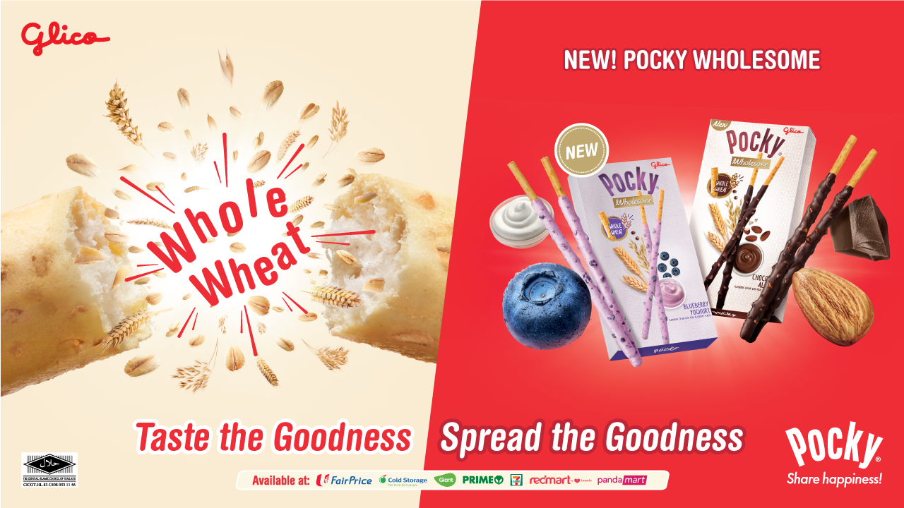 Pocky, Share happiness!, Say Pocky, Pocky day, 11.11, Cheer up together, with tasty, mess-free