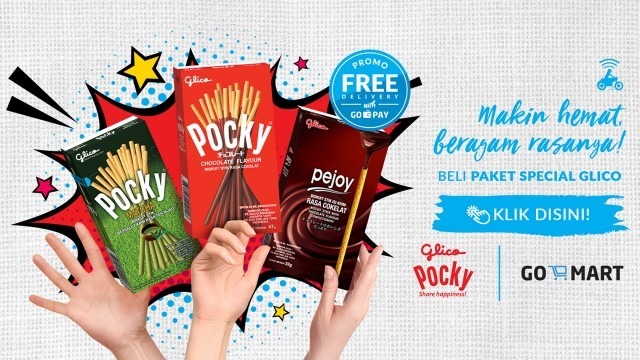 Pocky & Pejoy in Gomart