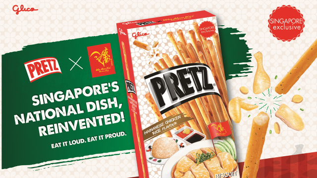 PRETZ, Chicken Rice, Hainanese Chicken Rice, Singapore, Glico, Wee Nam Kee, Limited Edition, Singapore Food Festival (SFF)