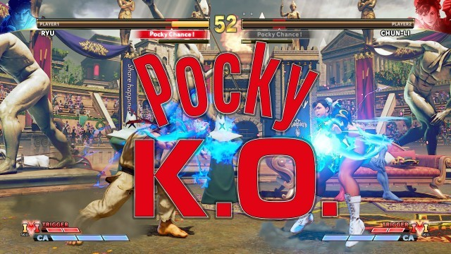 Pocky, Glico, Pocky K.O., eSports, game, CAPCOM, Street Fighter, Limited Edition