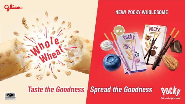 #PockyWholesome #Pocky #Wholesome #Blueberry #Yogurt #Chocolate #Almond