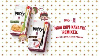 Pocky, Glico, Singapore, Ya Kun, Kaya, Pandan, Coconut, Kopi, coffee, traditional, Breakfast, Singapore Food Festive, STREAT
